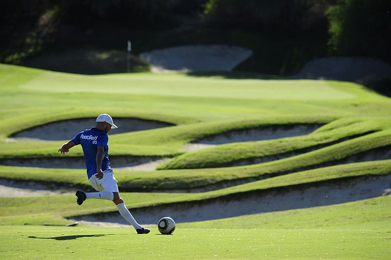 FootGolf_Player_-_Approach