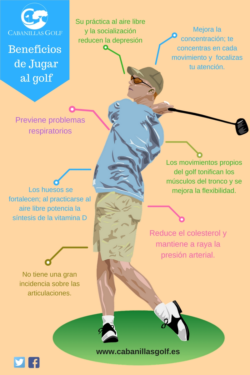 golf beneficios salud